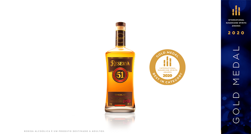 Reserva 51 Singular – Gold Medal no ISS Awards 2020